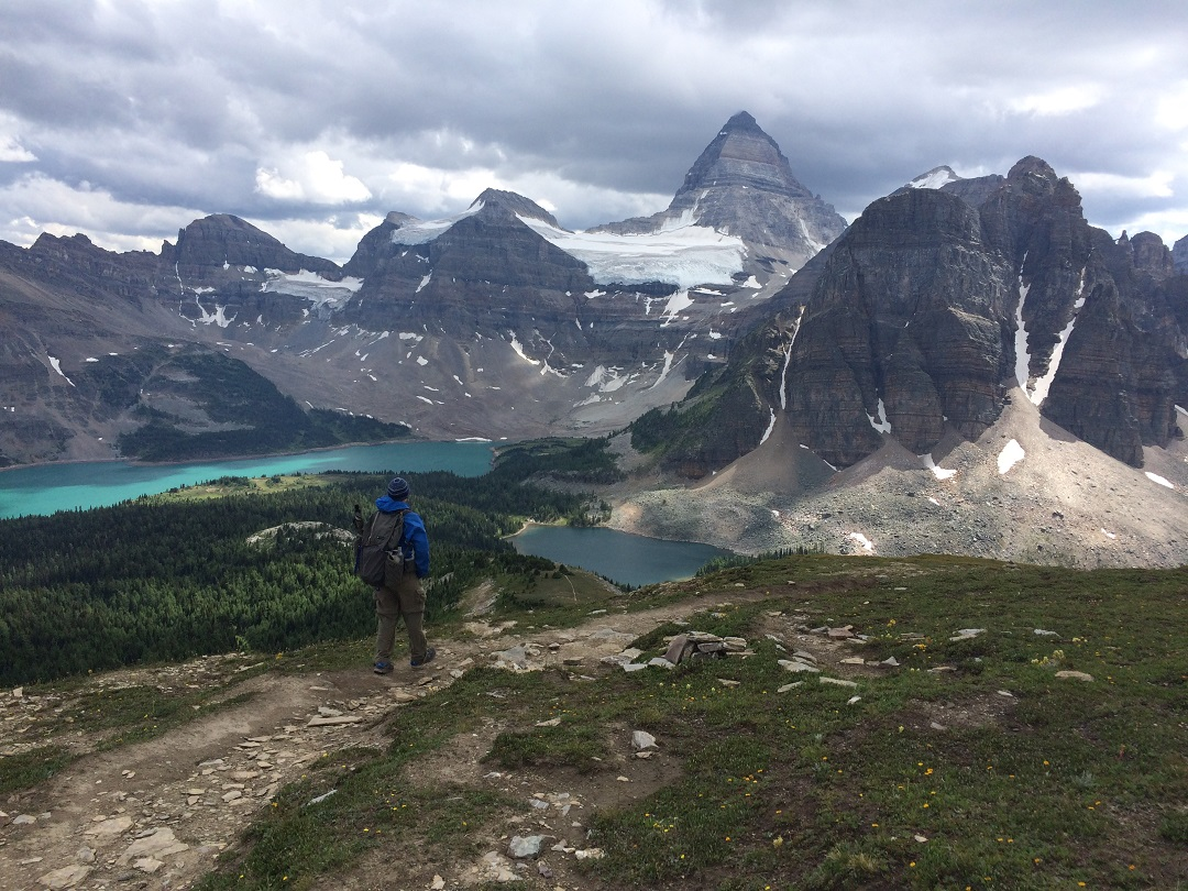 Mt. Assiniboine from the Nub