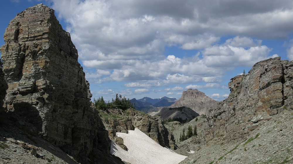 Crest top canyon