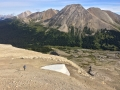 Down to Providence Pass from Surprise Pass alternate