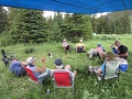 Camp wind down time