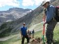 Tornado Saddle trail building crew
