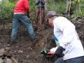 Building a new trail new Mud Creek