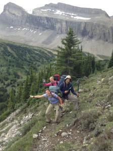 The trail crew