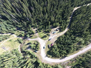 Base camp from above