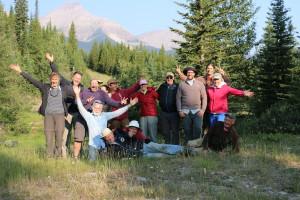 A happy trail crew