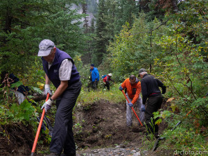 Restoring the David Thompson Heritage Trail