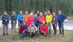 The David Thompson Trail Crew