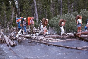 Crossing a logjam on the GDT in 1976