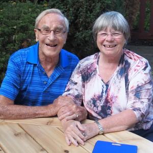 Willard & Karen in 2015