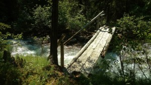 Some creeks are bridged