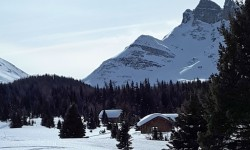 Naiset Huts at Mt. Assiniboine