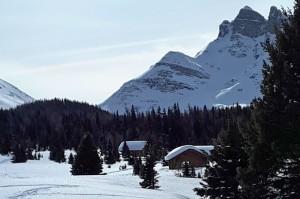 Naiset Huts at Mt. Assiniboine