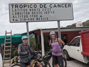 Tropic of Cancer, Mexico