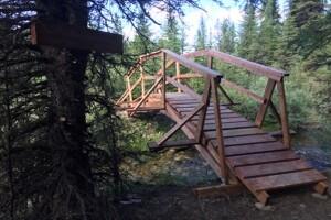 New Lost Creek bridge